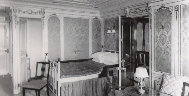 The Baxter staterooms