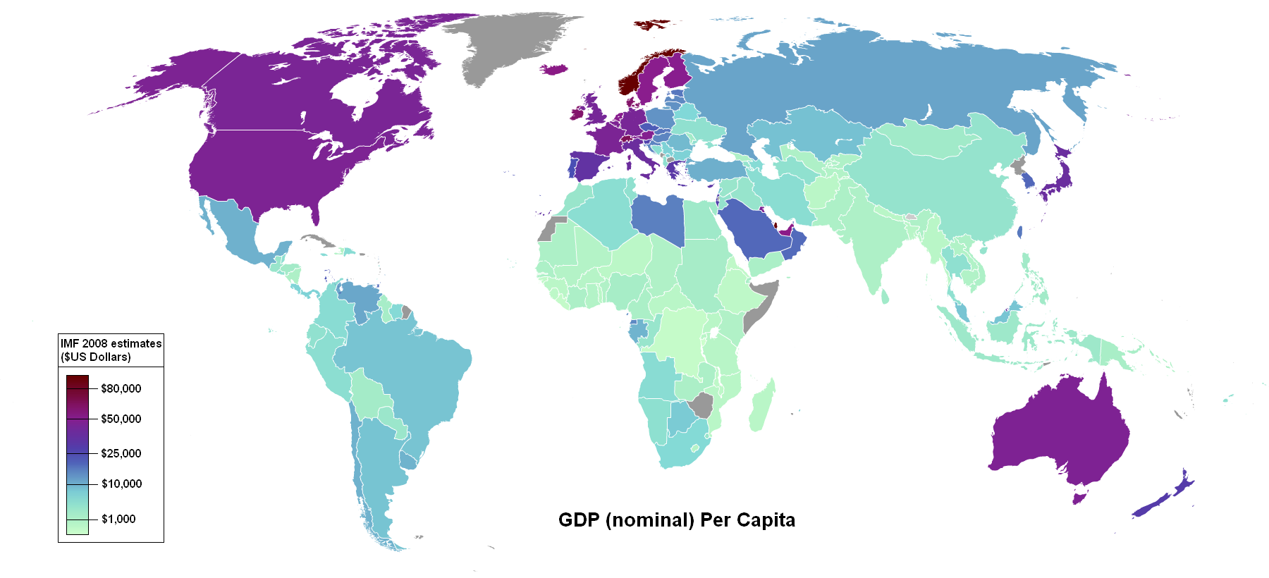 GDP map from Wikipedia